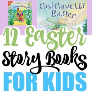 EASTER STORY BOOKS FOR KIDS