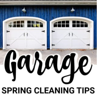 GARAGE SPRING CLEANING TIPS FOR A MORE FUNCTIONAL SPACE