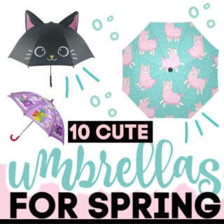 CUTE UMBRELLAS FOR SPRING