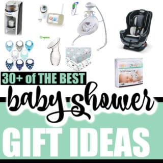 THE BEST BABY SHOWER GIFT IDEAS