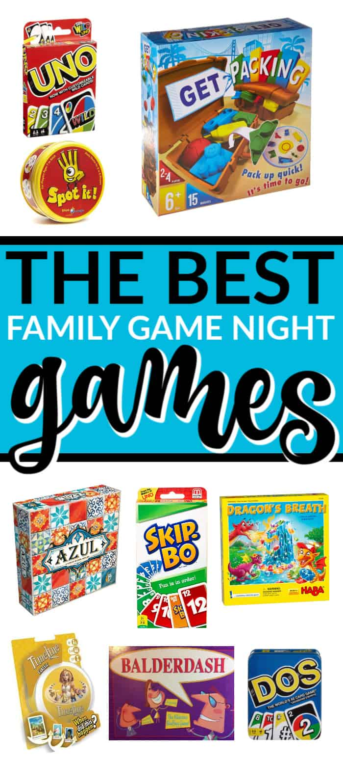 THE BEST FAMILY GAME NIGHT GAMES | Mommy Moment