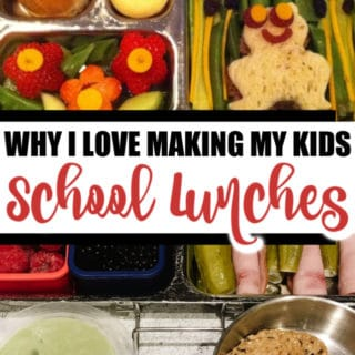 WHY I LOVE MAKING MY KIDS LUNCHES