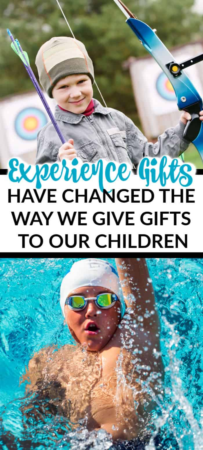 Experience gifts have changed the way we give to our kids!  If you are looking for great experience gift ideas, look no further!