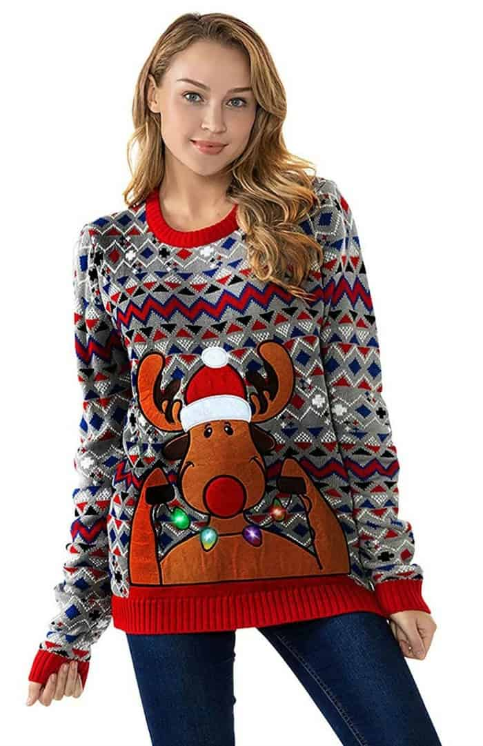 Ugly Christmas Sweater from You Look Ugly Today
