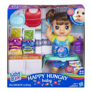 BABY ALIVE HAPPY HUNGRY BABY #31DAYSOFGIFTS