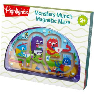 MONSTERS MUNCH MAGNETIC MAZE #31DAYSOFGIFTS