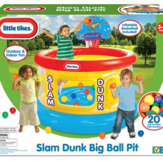LITTLE TIKES SLAM DUNK BALL PIT #31DAYSOFGIFTS