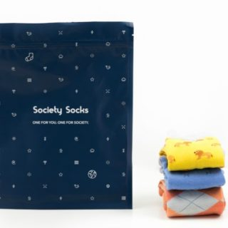 SOCIETY SOCKS #31DAYSOFGIFTS