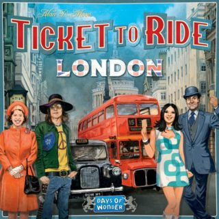TICKET TO RIDE LONDON #31DAYSOFGIFTS