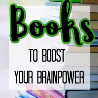 BOOKS TO BOOST YOUR BRAINPOWER