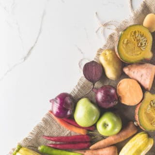 DELICIOUS FALL FRUITS AND VEGETABLES
