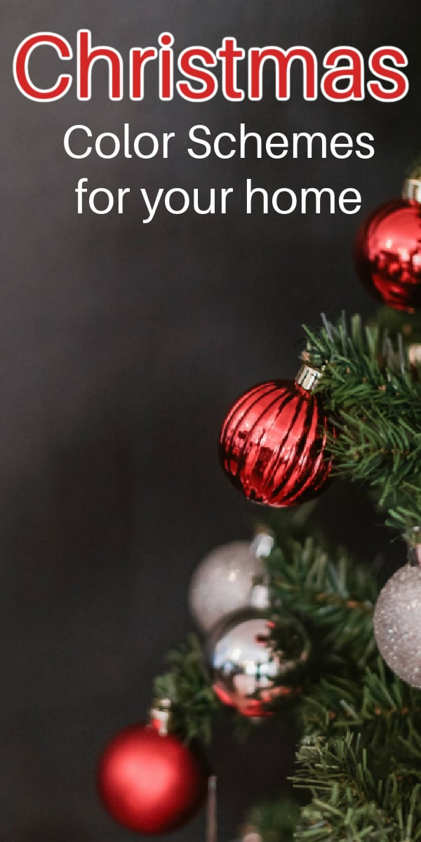 Christmas Color Schemes For Your Home Mommy Moment