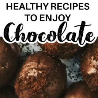 HEALTHY RECIPES TO ENJOY CHOCOLATE
