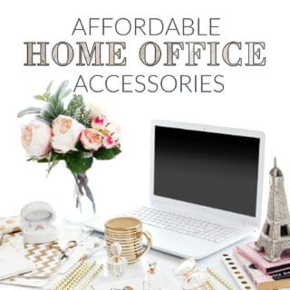 AFFORDABLE HOME OFFICE ACCESSORIES