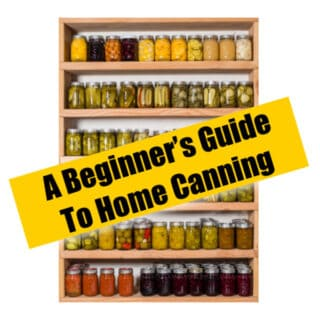 A BEGINNER'S GUIDE TO HOME CANNING